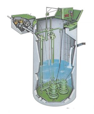 Lift Rail Wastewater and Water System